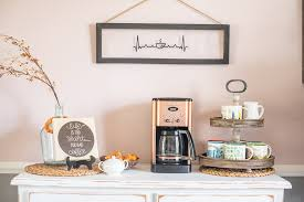 You can close the station when it is not in use; Creating A New Diy Coffee Station A Mom S Impression Recipes Crafts Entertainment And Family Travel