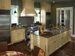 Country kitchen photo in Newark with granite countertops