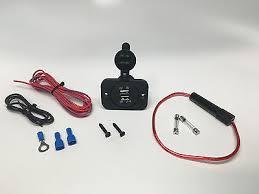 vw sand rail buggy zeppy io 12v dual usb charger port wire fuse kit for vw dune buggy baja sand rail hotrod