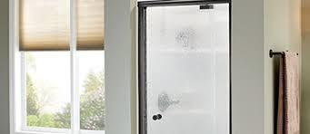 pivoting shower door bifold hinged
