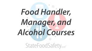 food handler manager and alcohol courses