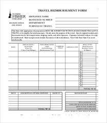 gas reimbursement form reimbursement template kays makehauk co