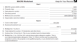 macrs 7 year depreciation calculated accurately sage fixed assets support and
