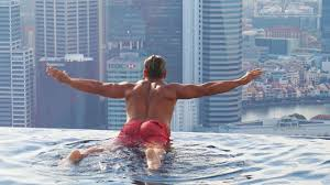 Singapore Marina Bay Sands infinity Pool SkyparkBeautiful Place