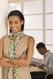 office wardrobe ideas. Woman In Office With Man Working The Background Wardrobe Ideas