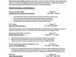 Hr Recruiter Resume Which Kinds Of Medical Students Have To Write A
