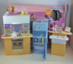 Barbie Kitchen Furniture Barbie Light Up Kitchen Furniture Playset 1999 Mattel 3 Mattel
