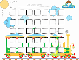Potty Chart For Boy Lovely Potty Charts For Children