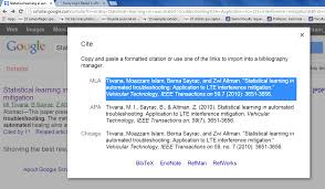 Easily Cite An Articlepublication Or Book With Google Scholar