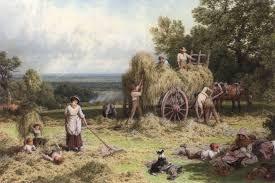 the hay wain myles birket foster