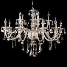 details about large modern crystal chandelier ceiling lighting cognac15 arms pendant fixture