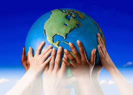 Image result for hands holding earth