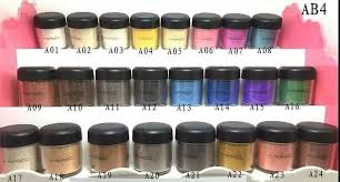mac pigment poudre eclat eye makeup powder 24 colors