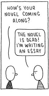 the novel is dead i m writing an essay brevity s nonfiction blog if