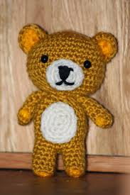 Easy Crochet Teddy Bear Pattern Interesting Decorating