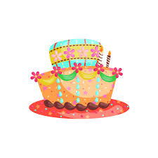 Birthday Cake Png Vector Image Transparent Background Download Png