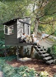 Tree House  Freestanding Timber Treehouse  Co Louth  Outside Diy Treehouses For Kids