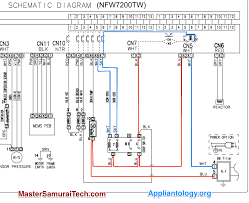 amana samsung nfw7200tw washer door lock schematic trace the amana samsung nfw7200tw washer door lock schematic trace