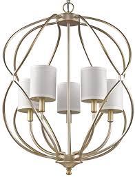 sharon antique silver candlestick chandelier 24 wx29 h