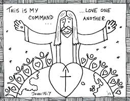 Coloring Pages Jesus Love Me Coloring Page Loves You Vintage