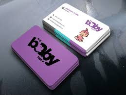 Entry 138 By Kajol2322 For Baby Shop Business Cards Freelancer