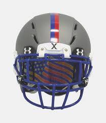 mirror visor football. under armour ua flag tinted football visor 1320270 blue mirror 926 red
