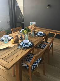 outdoor dining in summer at big w means expensive looking tablewear that s not heavy and won t break if you drop it