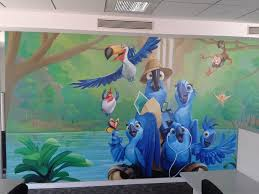 Full Size of Mural:beautiful Hand Painted Mural And Wall Art Affordable  Price Stunning Home ...