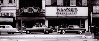 vintage haynes furniture storefront