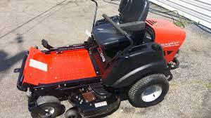 zero turn mowers for sale. 40in gravely zt1740 heavy duty zero turn mower 17 kohler w/ bagger system mowers for sale