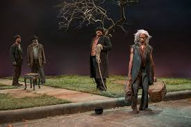 theater review waiting for godot court theatre in chicago  allengilmore alfredwilson a c smith anthonyleeirons