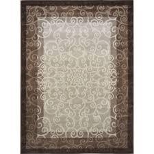 home dynamix melissa cream brown 8 ft x 10 ft indoor area rug