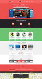 Motion Template Motion Single Page Psd Web Template For Free By Begha On Deviantart