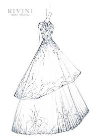Gallery For Ball Gown Wedding Dress Sketches Girls Bedroom In