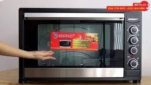 Lò nướng Sanaky VH 909N dung tích 90 lít, nướng thực phẩm, nướng bánh cực  ngon - YouTube