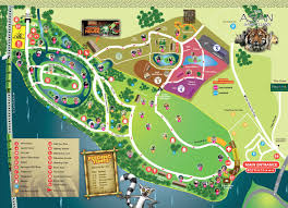 simple zoo map for kids.  Simple Map Facilities For Simple Zoo Kids
