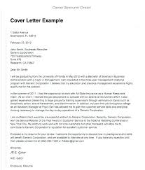 Sample Of A Cover Letter For Employment Writing A Cover Letter For A