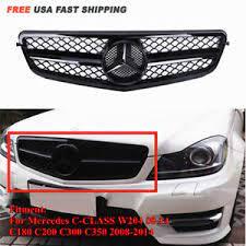 Emblem grill light led mercedes benz w204 w245 w207 c e b class l size. Grilles For 2014 Mercedes Benz C300 For Sale Ebay