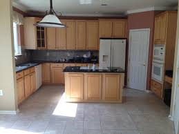 Kitchen Remodel Oak Cabinets White Appliances Felice Kitchen