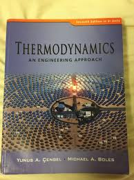 Thermodynamics an engineering approach 7th edition | Textbooks ...