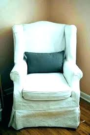 wingback box cushion slipcovers sofa covers picture fresh piece suite for chairs with square slipcover chair