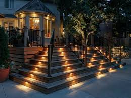pool deck lighting ideas. Led Deck Lighting Ideas Rope Stair Pool S