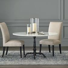 crate and barrel bistro table kitchen bistro table surprising la round iron with marble top decorating