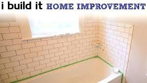 tile around bathtub mesmerizing how to install tile around bathtub and shower the home depot bathtub