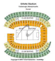 Gillette Stadium Tickets And Gillette Stadium Seating Charts