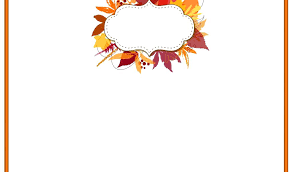 Thanksgiving Letter Templates Thanksgiving Letter Border Rsenterprises Co