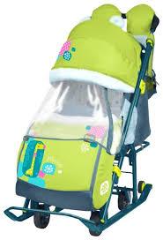 <b>Санки</b>-<b>коляска Nika</b> Ника Детям 7-2 (НД 7-2) — купить по ...