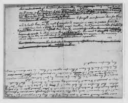 thomas jefferson draft fragment of declaration of thomas jefferson 1776 draft fragment of declaration of independence library of congress