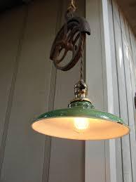 pendant lighting edison. Lighting Pendant Farmhouse Hanging Well Wheel Pulley Edison Bulb | By Benclif Designs F