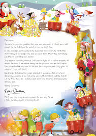 Nspcc Letter From Santa Magic Christmas Stardust 2015 Https